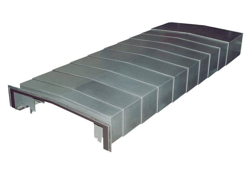 Roofing or sheet metal telescopic guards.